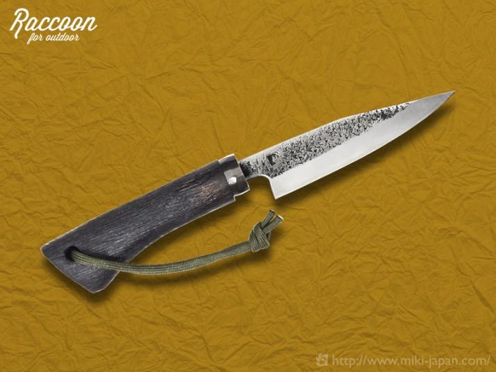 みきかじや村 Raccoon アウトドアナイフ 120