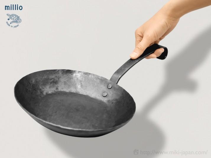 Millio 鍛造フライパン 20cm ショート