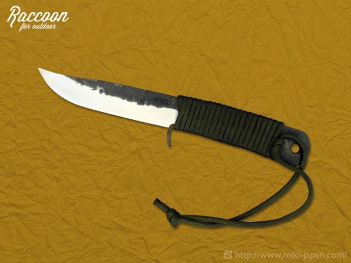みきかじや村 Raccoon バトニングナイフ 150
