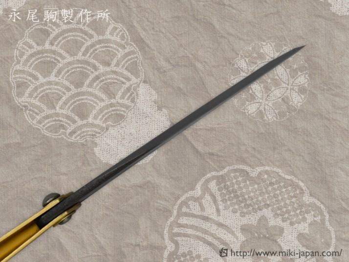 肥後守ナイフ 青紙片刃(大)