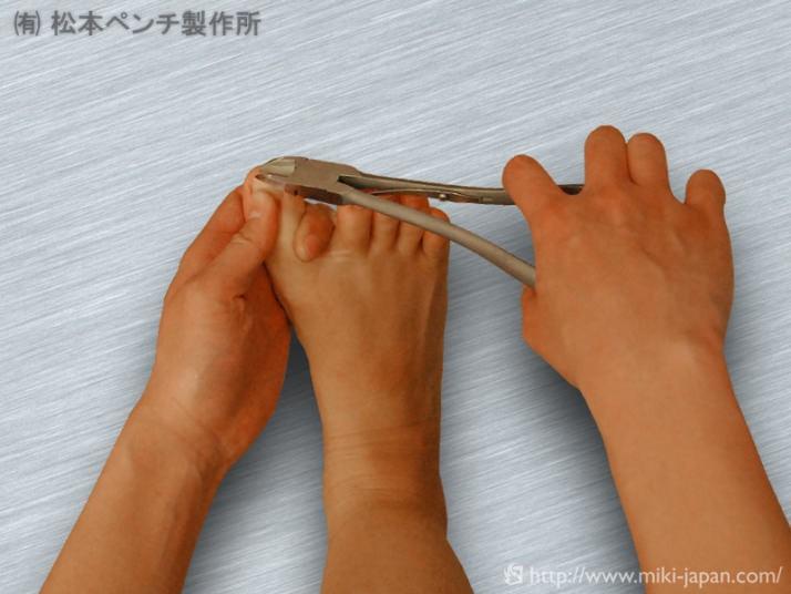ロングニッパー 爪切り