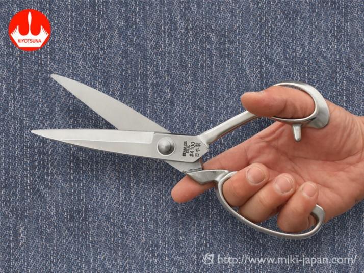 白鷺 ラシャ切鋏 240mm 厚刃