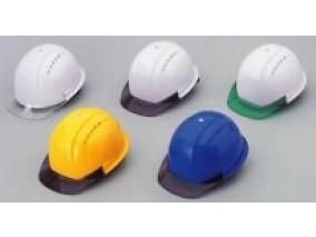 ヘルメット ひさし透明(通気孔付)