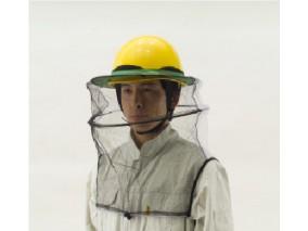 トーヨー ヘルメット取付式防蜂ネット