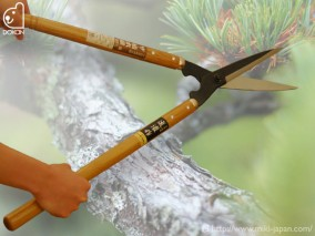 ザ・植木屋 竹(黒仕上)刈込鋏