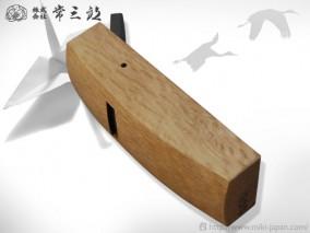 ハイス 四方反り鉋押(裏)金付 42mm