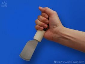 美貴久 皮断包丁 丸刃 磨き 36mm