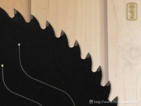 切ってみて~な! フッ素 木工用 165×1.6t×52P