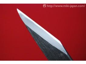 伝統工芸 本鍛造 切出小刀 黒打仕上 18mm