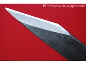 伝統工芸 本鍛造 切出小刀 黒打仕上 21mm