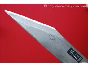 本鍛造 多層鋼 オリジナル小刀 磨き仕上 24mm
