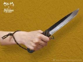 Raccoon バトニングナイフ 150さばいどるモデル(9月30日まで。注文受付終了しました)