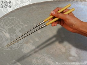 アマレロ柄盛箸 150mm (箱入り)