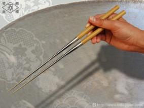 アマレロ柄盛箸 165mm (箱入り)