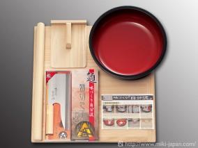 家庭用麺打セット(そば作り方説明書付)