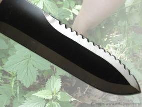 山菜掘り 鋸刃 サック付