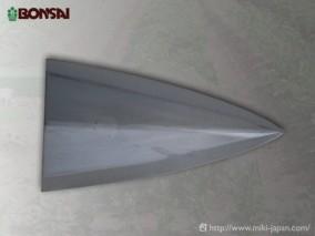 ステン三角ホー8寸1350mm 楕円アルミ柄