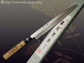 小鍛冶誠光作 白紙2号水牛柄 柳刃 210mm