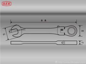 フレックスロックギアレンチ 14mm