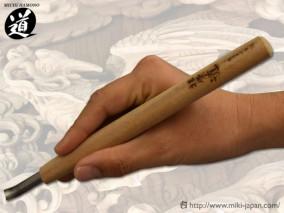 ハイス彫刻刀 丸スクイ 3.0mm