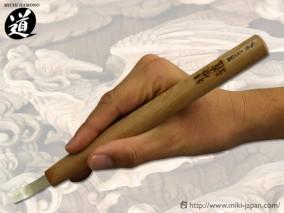 ハイス彫刻刀 極浅スクイ 12mm