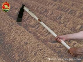 手打鍛造 大型鍬 唐鍬A 1050mm 厳選本樫柄付
