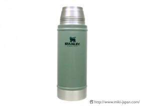 STANLEY クラシック真空ボトル 0.47L グリーン