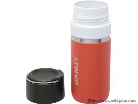 STANLEY ゴーシリーズ セラミバック 真空ボトル 0.47L サーモンピンク