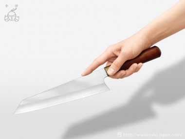 三寿ゞ型 真鍮漆柄 210mm