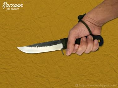 みきかじや村 Raccoon バトニングナイフ 120 4月発売
