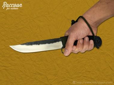 みきかじや村 Raccoon バトニングナイフ 150 4月発売