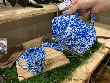 CROW CANYON HOME TEAPOT BLUE