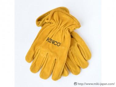 KINCO Cowhide Driver Gloves L