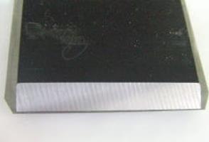 鉋刃の研ぎ:うら刃の研ぎ